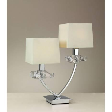 Mantra Akira table lamp 2L cream shade