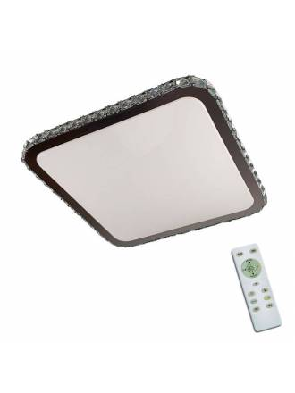 TRIO Sapporo LED dimmable + remote control ceiling lamp