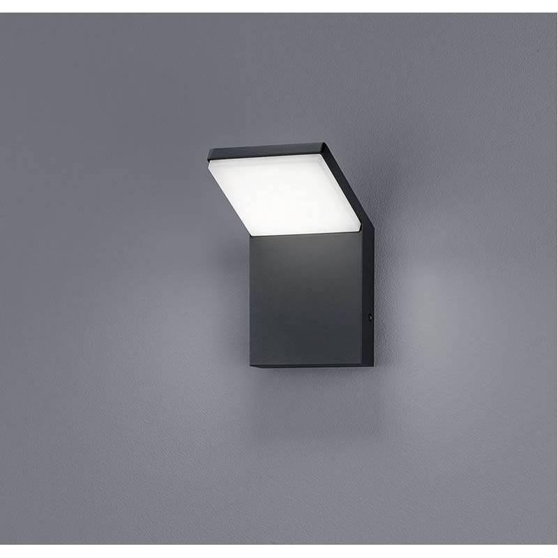Trio Pearl Led 9w Ip54 Aluminium Wall Lamp