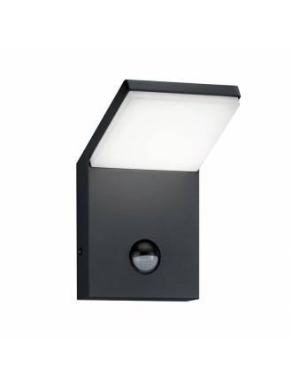 Aplique de pared Pearl LED sensor 9w IP54 - Trio