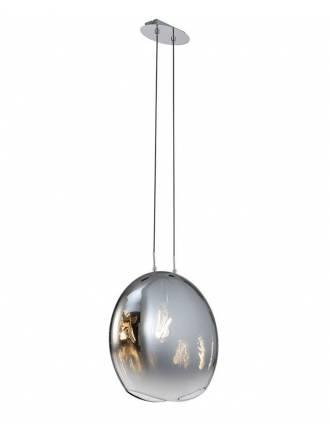 MANTRA Lens blown glass pendant lamp