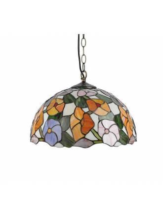 Lámpara colgante Ebro Tiffany - Sulion
