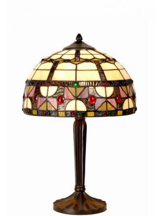 SULION Vidriera tiffany table lamp