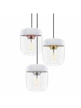 Lámpara Acorn acero blanco - Umage