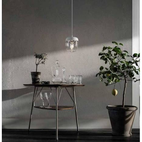 Lámpara Accorn acero blanco - Vita
