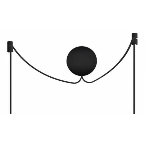VITA Cannonball cluster 2L E27 black