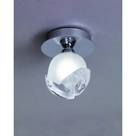Mantra Bali ceiling lamp chrome 1L E14