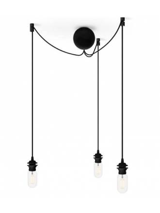 VITA Cannonball cluster 3L E27 black