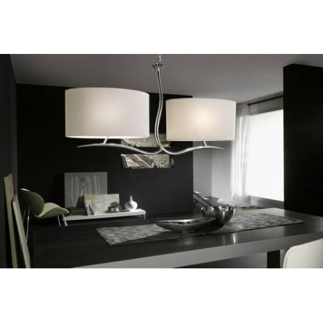 Mantra Eve pendant lamp chrome 4L