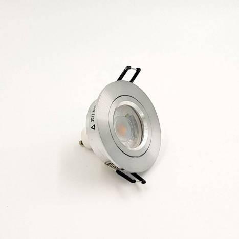 Foco empotrable Halka circular aluminio de Bpm