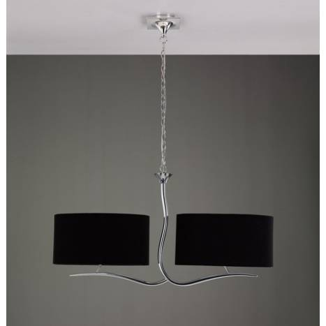 Mantra Eve pendant lamp chrome 4L