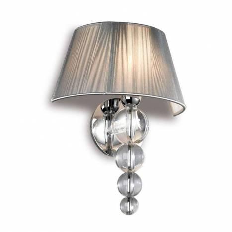 Schuller Mercury wall lamp 1 light transparent
