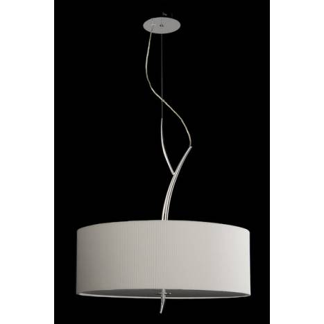 Mantra Eve pendant lamp 3L chrome