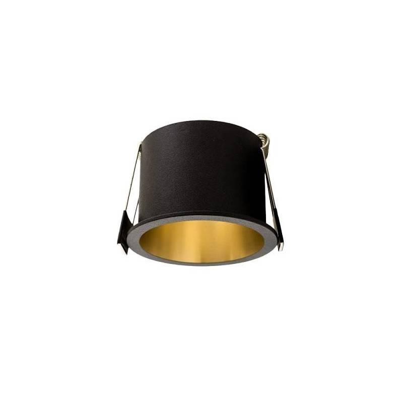 MASLIGHTING Aurum black + gold recessed light