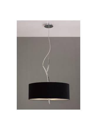 Mantra Eve pendant lamp 3L chrome