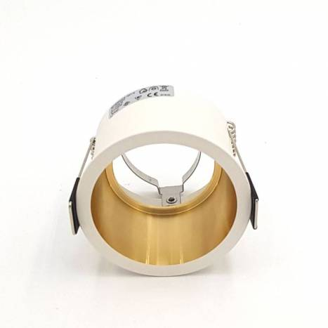 Foco empotrable Aurum blanco + oro - Maslighting