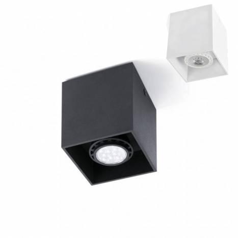 FARO Tecto GU10 square surface spotlight