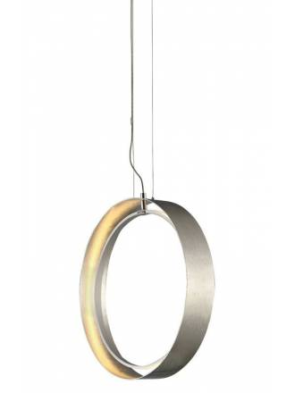 Lámpara colgante Orbitron LED plata - Mimax