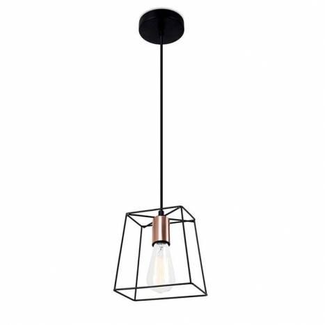 FORLIGHT Boxy E27 pendant lamp copper