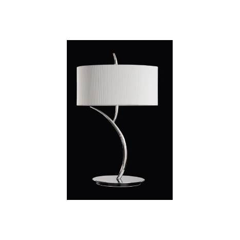 Mantra Eve table lamp chrome cream 2L round