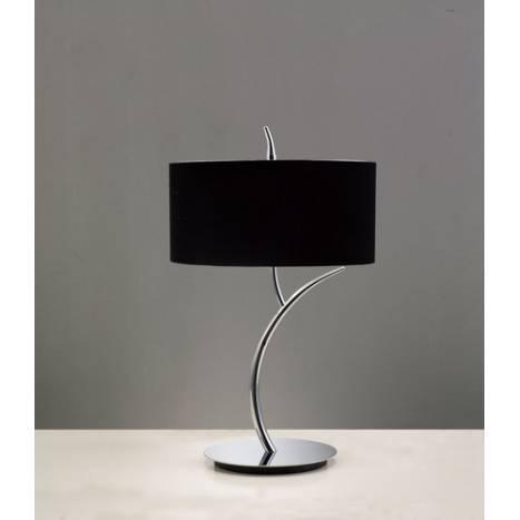 Mantra Eve table lamp chrome cream 2L round
