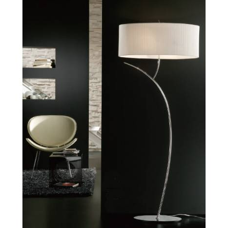 Mantra Eve floor lamp chrome 2L
