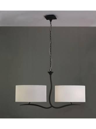 Mantra Eve pendant lamp forja cream 4L
