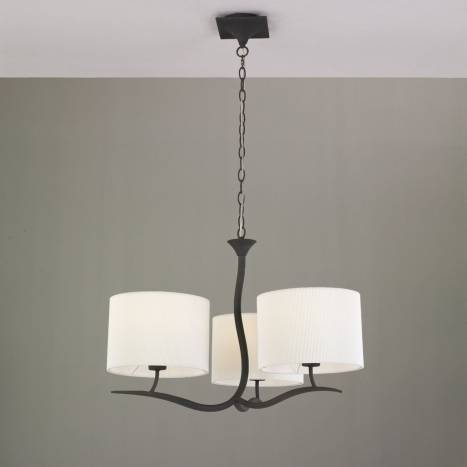 Mantra Eve pendant lamp forja cream 3L