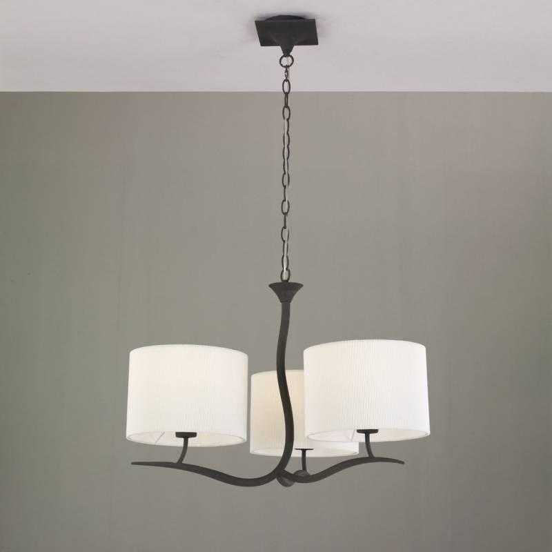 Mantra Eve pendant lamp forja cream 3L