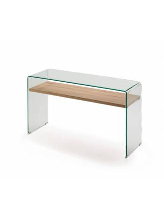 SCHULLER Sonoma 125cm console table glass