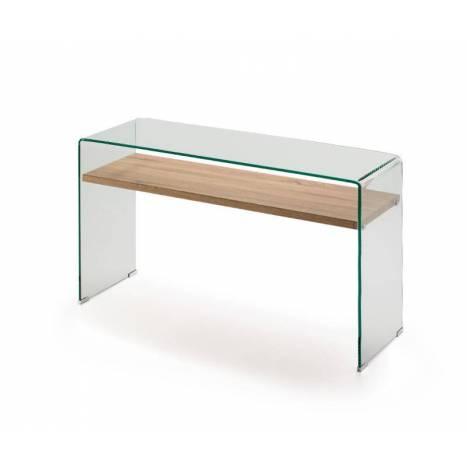 SCHULLER Sonoma 125cm Console Table Glass