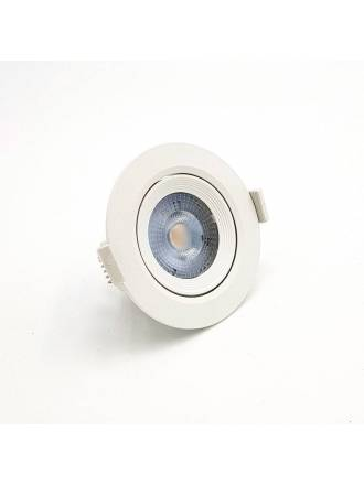 KLK Essential round recessed light led 7w