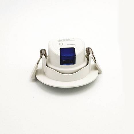 KLK Essential round recessed light led 7w