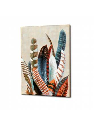 SCHULLER paintig acrylic Ucelli 120x90