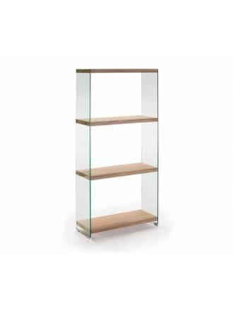 Estanteria Sonoma 165cm cristal - Schuller