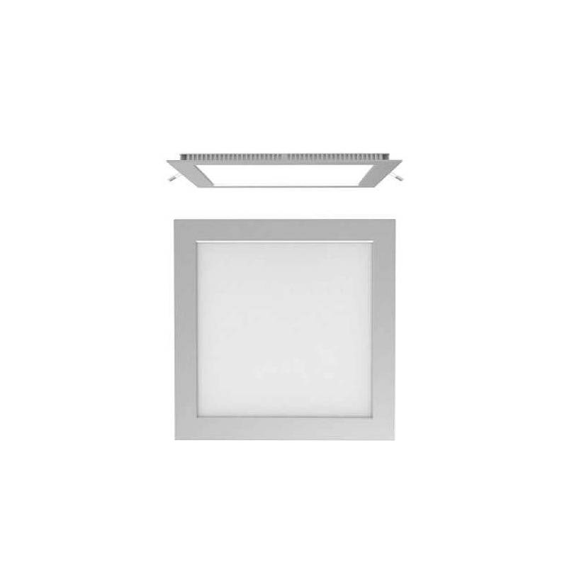 Downlight LED 25w cuadrado gris extraplano de Maslighting