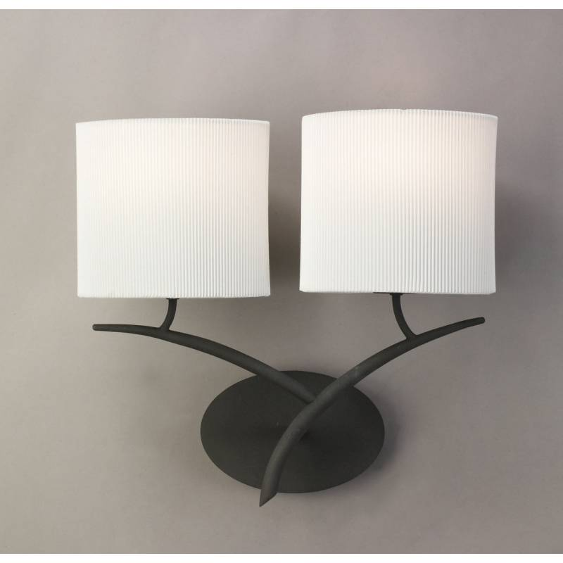 Mantra Eve wall lamp forja cream 2L