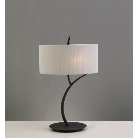 Mantra Eve table lamp forja cream 2L round