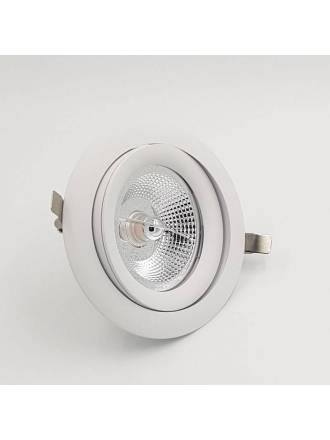 BPM Lucia GU10 AR111 recessed light white