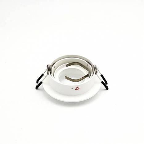 Foco empotrable Mini Catli redondo blanco de Bpm