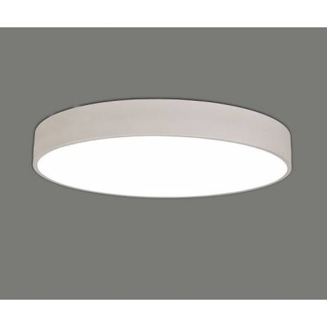 Plafon de techo Isia LED blanco de Daviu