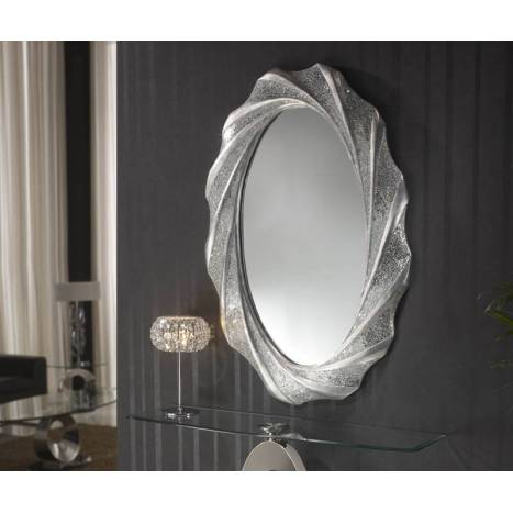 Espejo de pared Gaudi 125x84 ovalado - Schuller
