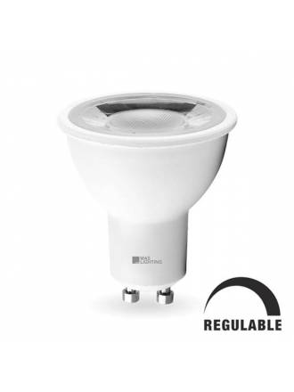 Bombilla LED 8w GU10 60° Star regulable - Maslighting