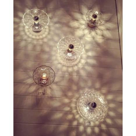 Aplique de pared Lotto cristal - Aromas