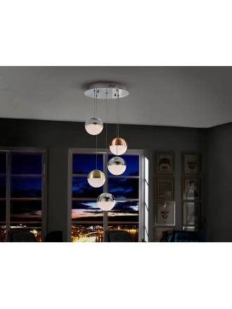 SCHULLER Sphere ceiling lamp 5l colors