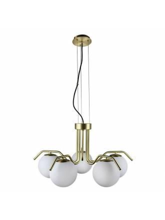Lámpara colgante Maui 5L E27 oro - ACB