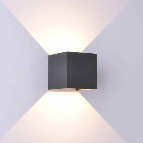 MANTRA Davos LED 12w IP54 wall lamp