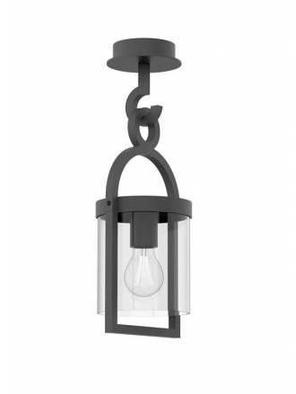 Lámpara de techo Maya 1L IP54 gris - Mantra