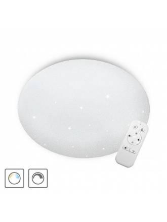 Plafón de techo Sever LED 72w regulable + mando - Cristalrecord