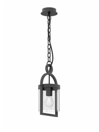 Lámpara colgante Maya 1L IP54 gris - Mantra